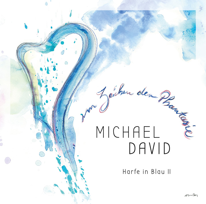 2_16_Michael_David_CD-Booklet_Harfe_in_Blau_2